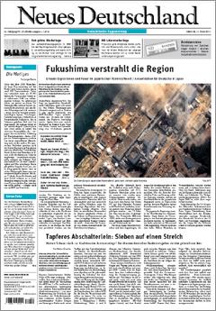 Neues Deutschland Vom 16032011 Neues Deutschlandde