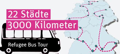 Bus Tour Tagebuch  auf deutsch (neues deutschland)