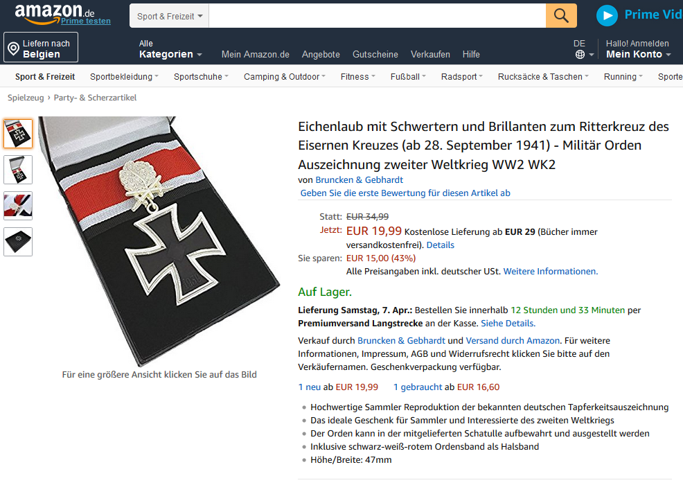 Nazi Devotionalien Das Hakenkreuz Kaschieren Lohnt Sich Neues